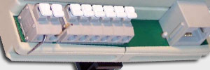 din rail ntp port closeup